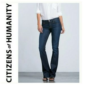 Citizens of Humanity womens low waist boot jean